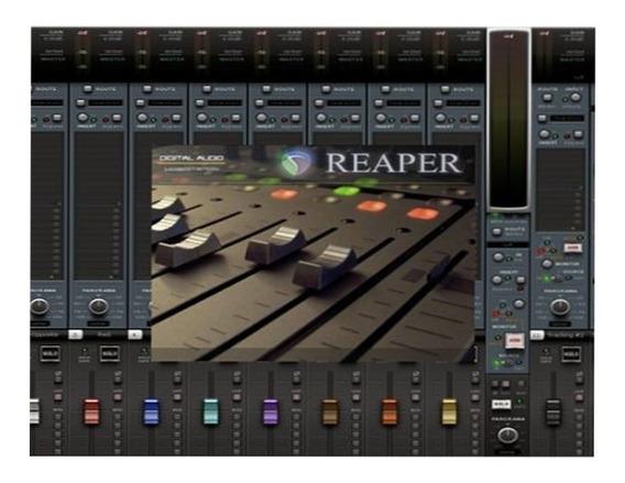 Reaper 5 Português + Plugin Waves Envio Imediato