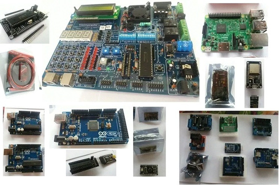 Kit Pic + Iot + Arduino (raspberry Esp Sensores Shields)