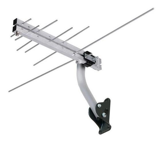 Antena Log Externa Para Tv 4 Em 1 Hdtv Digital/vhf/fm/uhf Aq