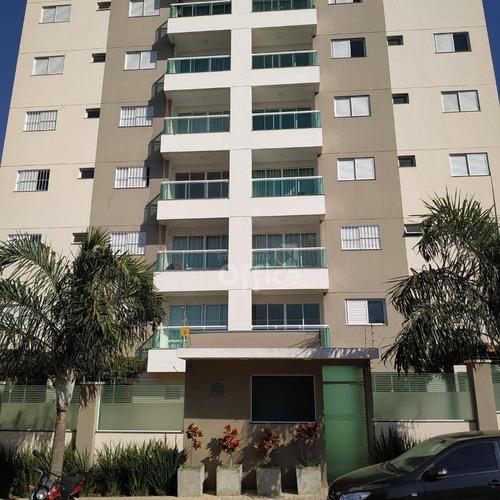 Apartamento Com 3 Dormitórios À Venda Por R$ 500.000,00 - Residencial Araujoville - Anápolis/go - Ap0018
