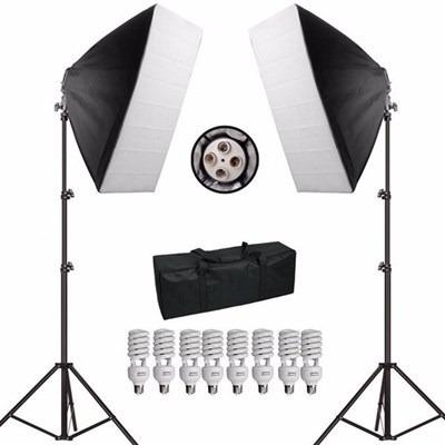 Kit Iluminação Greika Filmagem Youtuber Pk-sb01 110v 1080w