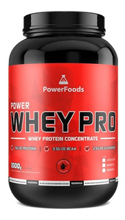 Power Whey Protein - 1kg - Powerfoods