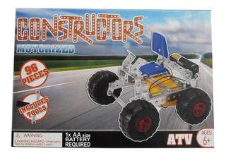 Juego De Construcción De Vehículos De Juguete Motorizados!