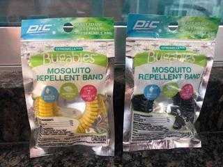 Anti Mosquito Insecto Repelente Muñequera Pulsera De Inse