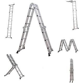 Escada De Alumínio Articulada 4x3 12 Degraus Starfer