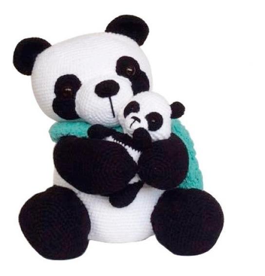 A Casa di Gabry: Panda Gigante Amigurumi | 568x544
