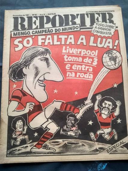 Jornal Reporter - Flamengo Campeão Mundial- Raríssima Edição