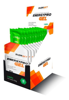 Gel Carboidratos Sudract Energy Pro C/15 Un