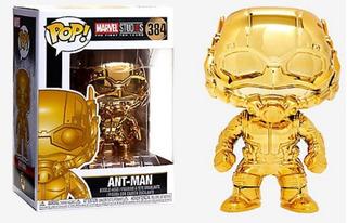 Antman Gold Chrome Marvel Funko Pop