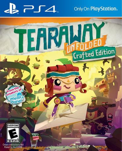 Tearaway Crafted Edition - Ps4 Fisico Nuevo & Sellado