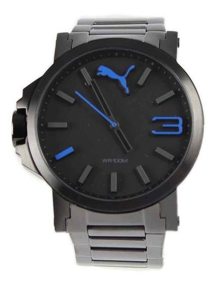 Reloj Puma Ultrasize Con Correa Metalica Original Nuevo