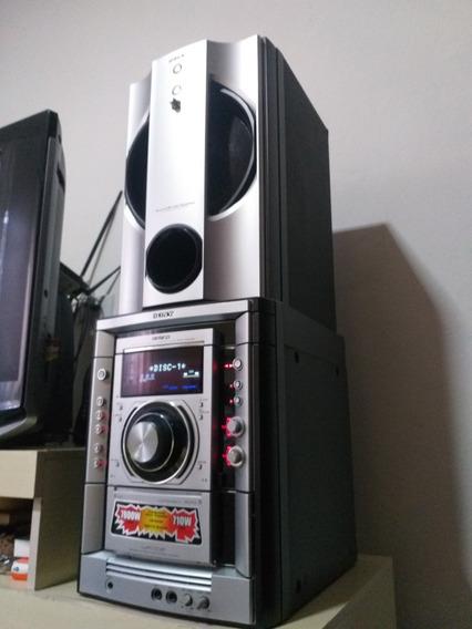 Som Da Sony 4 Caixas+home Teather