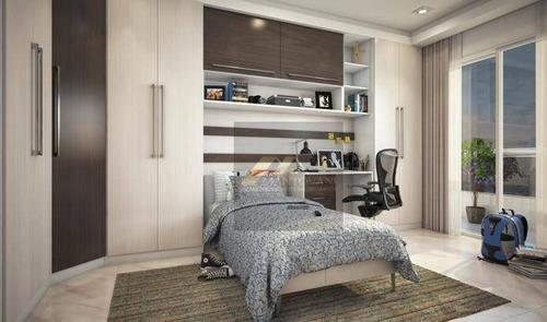 Apartamento Com 01 Dormitório Sendo 01 Suíte, 01 Vaga De Garagem, Bairro Canto Do Forte, Praia Grande/sp. - Ap1843