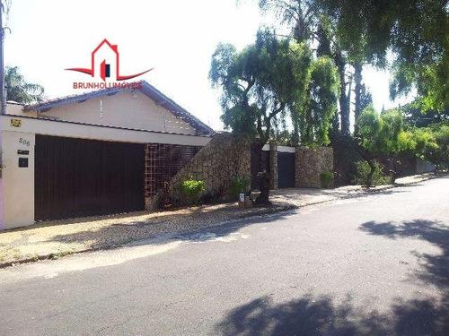 Casa A Venda No Bairro Jardim Eulina Em Campinas - Sp.  - 1295-1