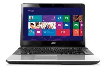 Notebook Acer E1-421-0_br899 Amd E1-1200 6gb 500gb Win8.1 14