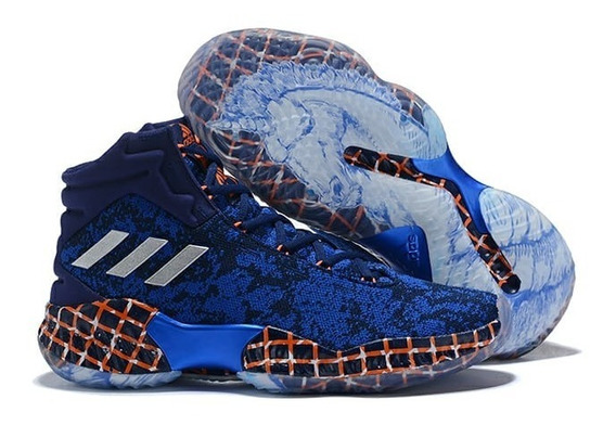 Tênis adidas Pro Bounce 18 Unicorn Azul #prontaentrega#
