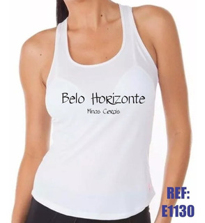 Camiseta Regata Nadador Belo Horizonte Mina Gerais
