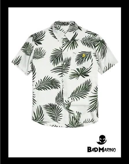 Camisa Hawaiana Bad Marino