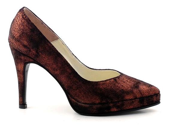 Zapato Mujer Cuero Briganti - Mccz03299 07