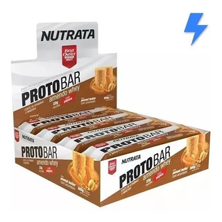 Barra De Proteína Protobar 8 Un. - Nutrata - Melhor Sabor!