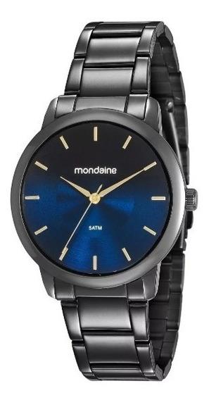 Relógio Mondaine Unisex Preto 53606lpmvpe5