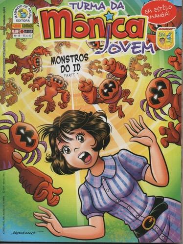 Revista Turma Da Mônica Jovem 15