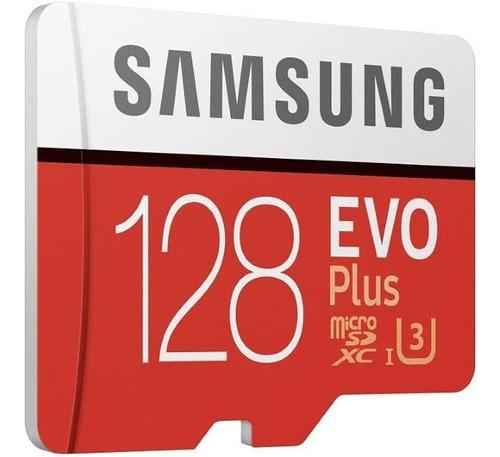 Tarjeta Microsd 128 Gb Samsung Evo Plus Clase10 U3 4k 100m/s