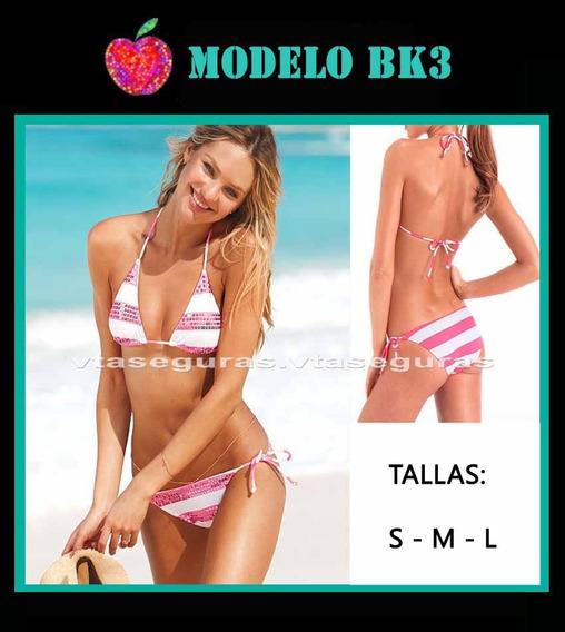 Bikinis, Trajes De Baño, Neopreno Tipo Triangul, Envio Grati