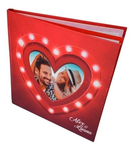 Foto Livro Álbum Porta Retratos Personalizado 20x20cm 12pág.