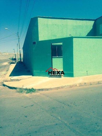 Kitnet Com 1 Dormitório À Venda, 300 M² Por R$ 250.000 - Condomínio Amin Camargo - Goiânia/go - Ca0472