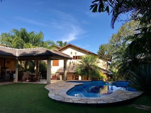 Casa Com 3 Dormitórios À Venda, 447 M² Por R$ 1.700.000,00 - Granja Viana - Carapicuíba/sp - Ca16840