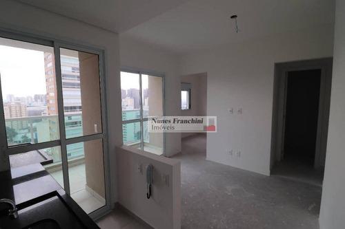 Perdizes - Zo-sp- Apartamento Novo Com 1 Dormitório, 1 Vaga - R$ 450.000,00 - Ap6627