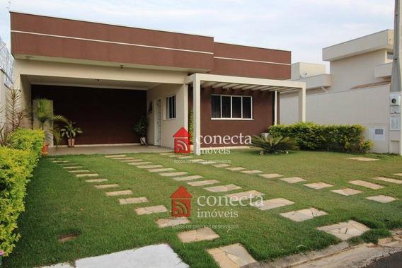 Casa Residencial À Venda, Condomínio Terras Do Fontanário, Paulínia - Ca0143. - Ca0143