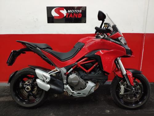 Ducati Multistrada 1200 Abs 2017 Vermelha Vermelho