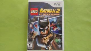 Lego Batman 2 Dc Super Heroes Para Wii Usado
