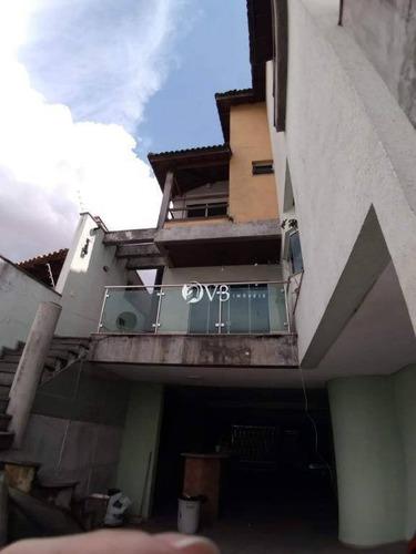 Sobrado Com 4 Dormitórios - Venda Por R$ 2.000.000,00 Ou Aluguel Por R$ 7.500,00/mês - Tatuapé - São Paulo/sp - So0087