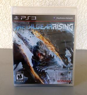Metal Gear Rising Revengeance Para Ps3 (nuevo)