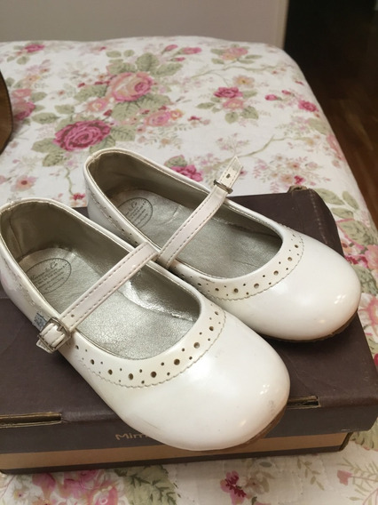Zapatos Nacarados De Vestir / Fiesta Mimo & Co 17,5 Cm Niña