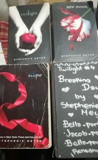 Saga Crepúsculo Stephanie Meyer 4 Libros En Inglés Oferta