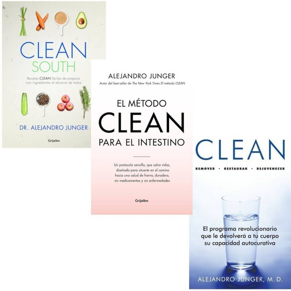Pack Junger Alejandro- Clean South + Clean + El Intestestino