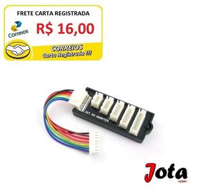 Placa Jst-xh 2-6s Carregador Lipo (frete Carta)