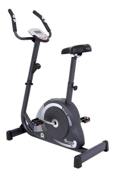 Bicicleta Ergométrica Vertical Mag 5000v, Magnética, Suporta