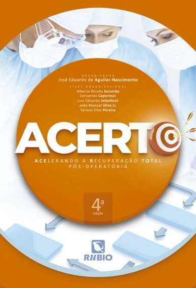 Acerto - Acelerando A Recuperacao Total Pos-operatoria - 4