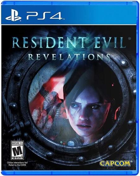 Resident Evil Revelations Ps4 Mídia Física