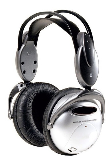 Fone De Ouvido Wireless/ir Prata - Hurricane | Headphone Set