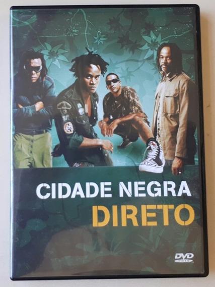 Dvd Cidade Negra - Direto - Original - Estado De Novo