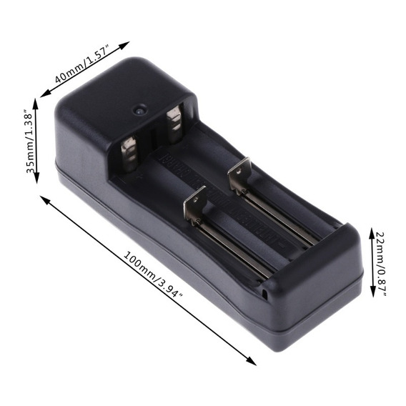 Carregador Bateria Lanterna Tática 18650 14500 16340 1044