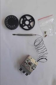 Kit 4 Termostato Capilar 0 A 60 Graus 16amperes 3 Pinos