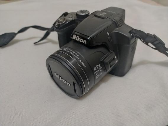 Nikon P510 Cartão 16gb E Bolsa - Leia A Descrição