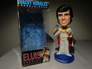 Elvis Presley Funko Wacky Wobbler Bobble Head Aloha From Haw